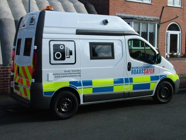 South Yorkshire Police Camera Van
